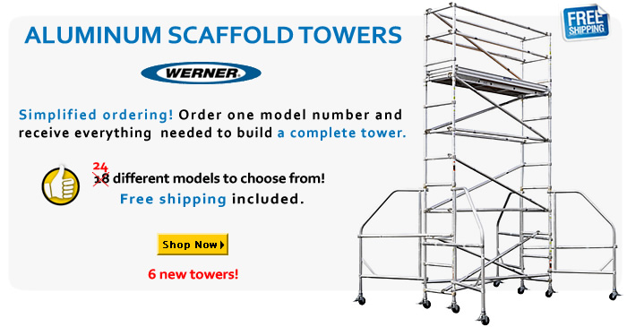 Werner Scaffold Towers