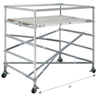 Standard Adjustable Base Section - Length 8'