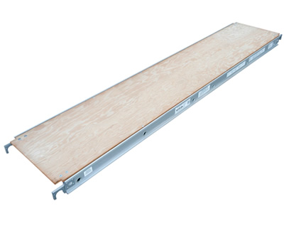 "10' Plywood Decked Aluma-Plank  (24"" Wide)"