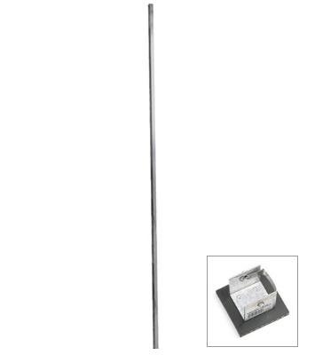 24 Aluminum Pole With Pole Foot Pj 24p 441 00